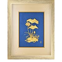 Khung tranh kèm tranh hoa sen DD04