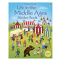 Usborne Life in the Middle Ages Sticker Book