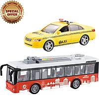 Đồ Chơi VECTO Combo Xe Buýt Du Lịch - Xe Taxi CB-911A-560C