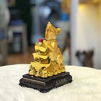 Chuột Phong Thủy Trên Thỏi Vàng