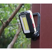 Đèn led sạc điện bốn chế độ sáng W560 ( Tặng kèm 01 đèn pin sạc bóp cơ tay màu ngẫu nhiên )