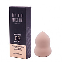 Combo Kem nền make up che khuyết điểm cao cấp Hàn Quốc 5 in 1 Dabo Make up Matte SPF47 PA++ (50ml) –Hàng chính hãng +Tặng Bông Kem Tán Phấn Tiện Dụng Hình Hồ Lô Hàn Quốc Mira Suri – Hàng chính hãng.