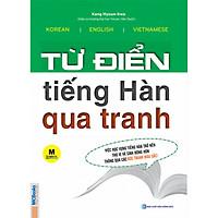 Combo Từ Điển Tiếng Hàn Qua Tranh + Luyện Nghe Tiếng Hàn Dành Cho Người Mới Bắt Đầu