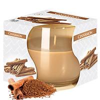 Ly nến thơm tinh dầu Bispol Cinnamon 100g QT024777 - hương quế