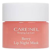 Mặt nạ ngủ môi khóa ẩm và mềm mịn hương dâu Care:nel Lip Sleeping Mask Berry 5ml