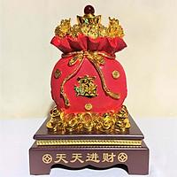 Tượng Túi Vàng Chiêu Tài Lộc Cao 32cm