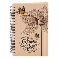 Notebook PhotoStory 140 Trang Bìa Kraff Cứng Lo Xo TK18 (14 x 16cm)