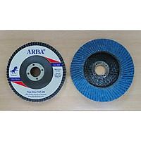 Nhám xếp/ráp xếp xanh ARBA 20 cái cỡ hạt #40