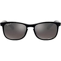 Ray-Ban RB4263 Chromance Mirrored Square Sunglasses