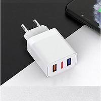 Củ sạc SENDEM OG01 2 cổng USB sạc nhanh 2.4A - Củ sạc đạt tiêu chuẩn EU - sạc nhanh an toàn cho điện thoại - Có báo đèn LED- Hàng chính hãng
