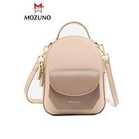 Balo Nữ Mini Thời Trang Chính Hãng MICOCAH Phối Màu Vintage Siêu Sang Siêu Đẹp Mẫu Mới Hot 2021 MC43-Mozuno