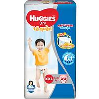 Tã Quần Huggies Dry Gói Cực Đại XXL56 (56 Miếng) - Bao Bì Mới