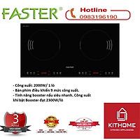 Bếp từ Inverter Faster FS 688I nhập Malaysia, có Booster cả 2 lò- hàng chính hãng