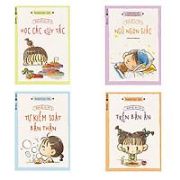 Trọn bộ 4 cuốn người Đức nuôi dạy con: Người Đức Dạy Con Học Các Qui Tắc - Người Đức Dạy Con Trên Bàn Ăn - Người Đức Dạy Con Tự Kiểm Soát Bản Thân - Người Đức Dạy Con Ngủ Ngon Giấc