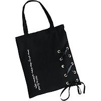 Túi Vải Đeo Vai , Đeo Chéo Hàn Quốc YOUNG TO YOU Họa Tiết Dây Đan Tiện Lợi Đi Học, Đi Chơi - TH018