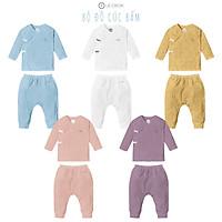 LE COON | Bộ Đồ Cúc Bấm | Vải COOL mỏng mát | 0-3 tuổi