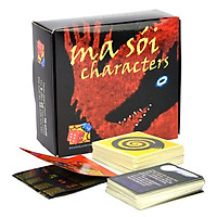 Boardgame Ma Sói Character Việt Hóa