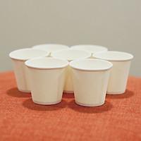 Combo 300 ly giấy, cốc giấy sampling 3oz 90ml đựng gia vị, sản phẩm dùng thử, uống nước cho trẻ em
