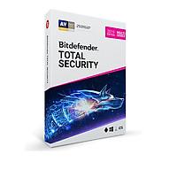 Phần mềm Bitdefender Total Security - Chính hãng