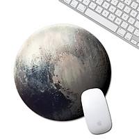 Miếng lót chuột hành tinh tròn chống trượt nhỏ gọn cho laptop máy tính