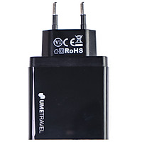 Adapter sạc Dual USB 18W - PD 18W Umetravel A4 - Hàng Chính Hãng