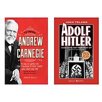 Combo Sách: Tự Truyện Andrew Carnegie + Adolf Hitler - Chân Dung Một Trùm Phát Xít (Bìa Cứng)