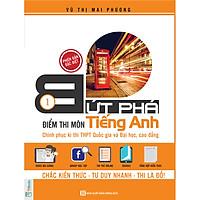 Bứt Phá Điểm Thi Môn Tiếng Anh 1 - (Tặng Video Bài Giảng + Thi Thử Online), Học kèm App TKBooks, Cào Tem Để Mở Quà Tặng