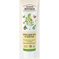 Kem dưỡng da tay Zelenaya Apteka chiết xuất olive giúp tay mềm mịn, căng bóng 100ml