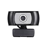 Webcam Độ Nét Cao 720p 30 Khung Hình/Giây Xoay 360 Độ Với Micrô Giảm Tiếng Ồn Cho Máy Tính HD Xách Tay