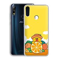 Ốp lưng dẻo cho điện thoại Zenfone Max Pro M2 - 01219 7881 SALLY03 - in hình Vịt Sally ngộ nghĩnh - Hàng Chính Hãng