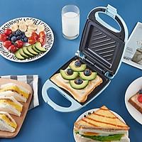 Máy Nướng Bánh Mì Sandwich, Máy Kẹp Nướng Bánh Mì Cho Bữa Sáng Nhanh Chỉ Với 3 Phút