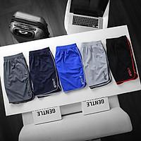 Combo 5 quần ECHT 5 màu short tập gym thể thao co giãn thấm mồ hôi