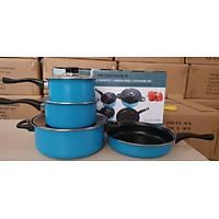 Bộ nồi chảo chống dính đáy từ 7 món  dùng được tất cả các loại bếp (Induction)