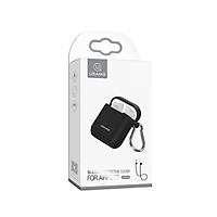 Túi đựng silicon Usams chính hãng cho tai nghe airpods (tặng kèm dây đeo)