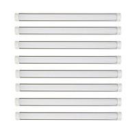 Bộ 8 đèn tuýp led bán nguyệt trắng 120cm 36w