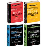 Sách - Sổ tay học tập - Toán học, Hình học, Hóa học, Khoa học ( Bộ 4 cuốn )/ Sách Tổng Hợp Kiến Thức Từ THCS - THPT