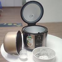 NỒI CƠM ĐIỆN RCS-1797 - Hàng chính hãng thương hiệu Smart Cook - Bảo hành: 12 tháng  - Hạt dẻ và Nâu cafe - - Sản phẩm của Tập đoàn Elmich Cộng Hòa Séc, đạt tiêu chuẩn Chất lượng Châu Âu.