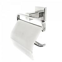Lô giấy vệ sinh chân đế vuông INOX 304