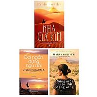 Combo 3 Cuốn Sách Giúp Bạn Định Hướng Được Bản Thân Tốt Hơn : Sống Một Cuộc Đời Đáng Sống + Đời Ngắn Đừng Ngủ Dài  + Nhà Giả Kim