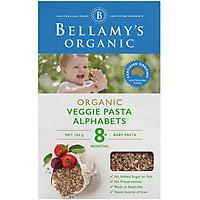 Nui Dinh Dưỡng Hữu Cơ Hình Chữ Cái Alphabet Từ Lúa Mì Semolina Bellamy's Organic
