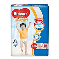 Tã quần Huggies Dry  XXL16 (16 miếng - cho bé 16-25kg)  - HSD luôn mới