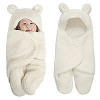 Chăn Quấn Ủ Kén Lông Cừu Baby Blanket Hình Thú Cao Cấp Cho Bé Yêu