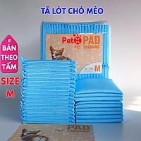 Miếng lót cho chó đi vệ sinh, tã giấy khay, lồng chuồng thú cưng, mèo siêu thấm hút (bán lẻ từng tấm)