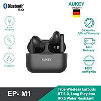Tai Nghe Không Dây Aukey EP-M1 - Chống Nước IPX4, Bluetooth 5.0 - Hàng Chính Hãng