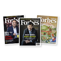 Combo tạp chí Forbes Việt Nam chủ đề nông nghiệp