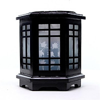 Đèn xông tinh dầu gỗ M0100 - Máy xông, đèn ngủ