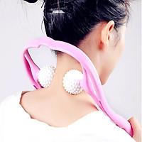 Máy massage cổ vai gáy cầm tay, con lăn massage thư giãn giảm đau nhức toàn thân