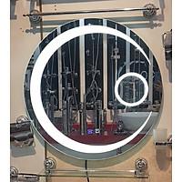 Gương led nhà tắm dáng tròn BC60