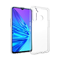 Ốp lưng silicon trong suốt cho Oppo Realme 5 siêu mỏng 0.55mm