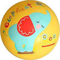 Fisher Price Children's toy ball baby ball racket 9 inch (yellow donated pump) F0516H3